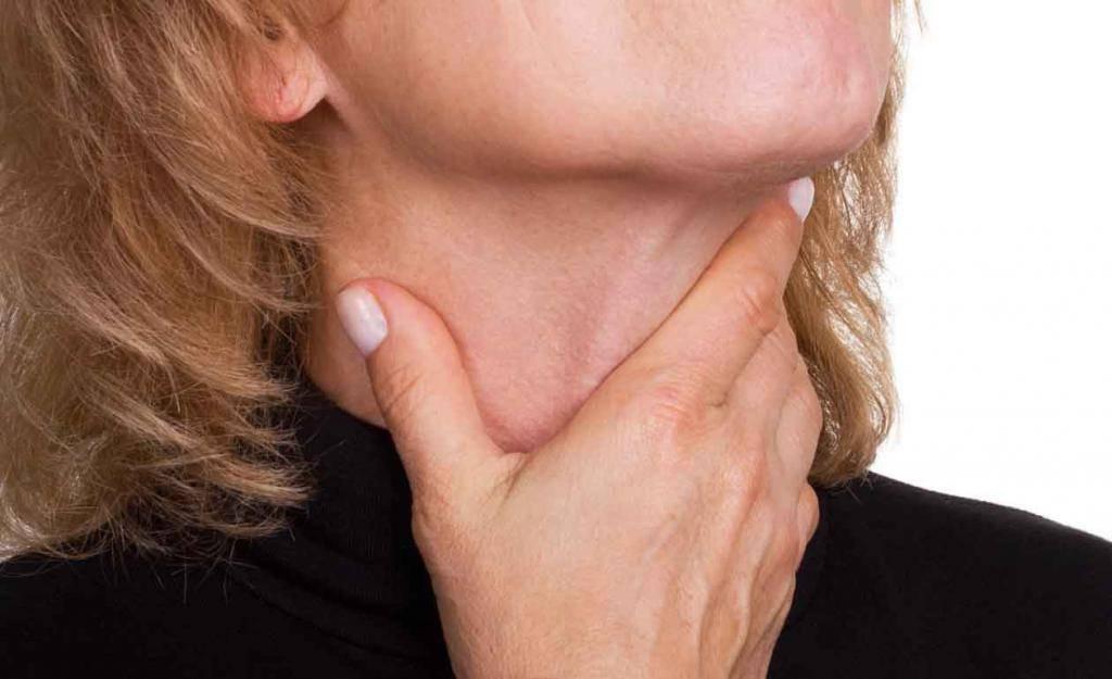 печет задняя стенка горла