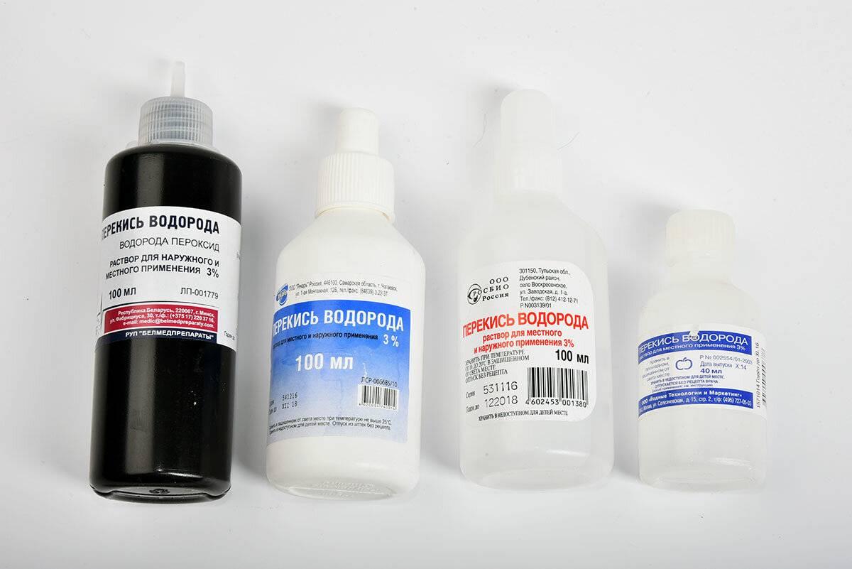 Перекись водорода при себорейном дерматите