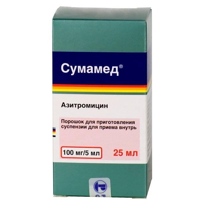 антибиотики при кашле и насморке у взрослых