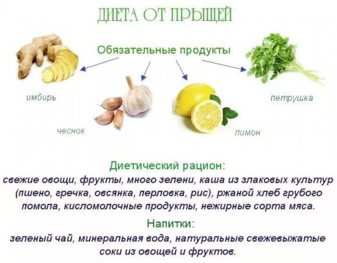 Питание при демодексе