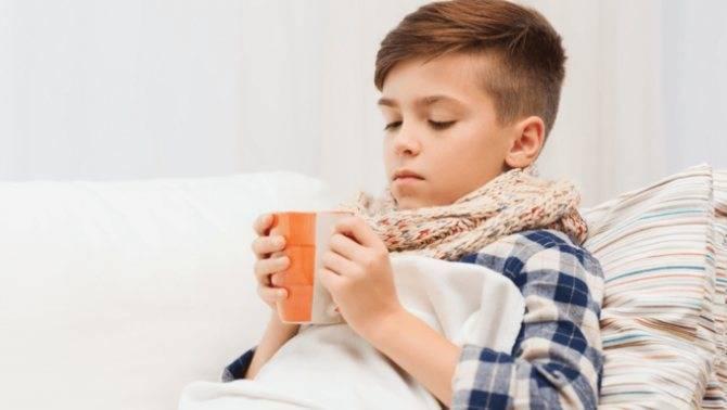 Лечение хриплого кашля у ребенка