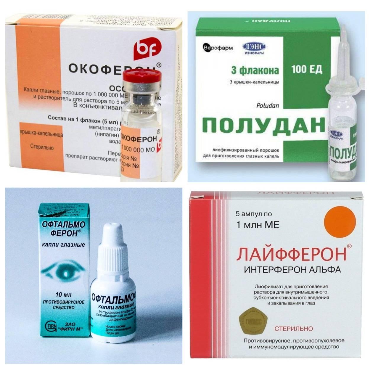 Офтальмоферон – инструкция по применению глазных капель, дозы детям, цена