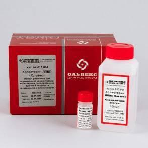Набор реагентов для определения холестерина в крови