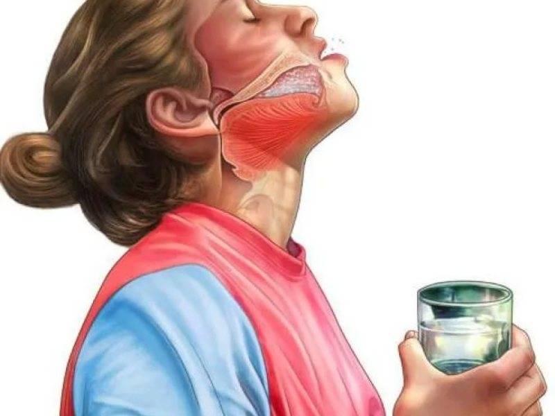 Лечение соплей стекающих по задней стенке горла у ребенка
