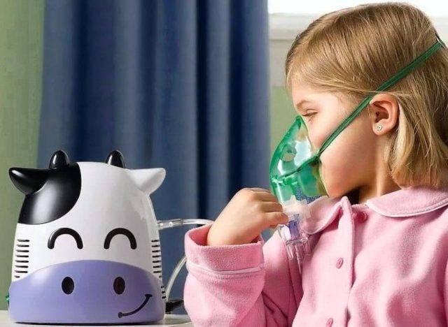 ингаляции от кашля ребенку