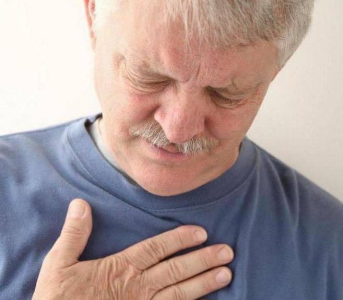 Боль в грудине посередине и кашель сухой