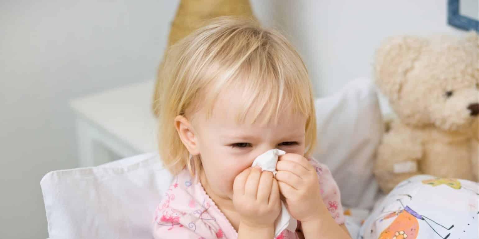 густой насморк у ребенка