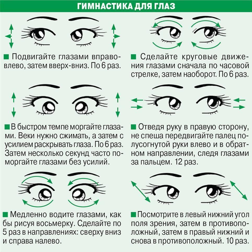 упражнения для глаз по аветисову для детей