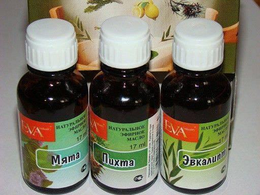 эфирные масла от кашля для детей