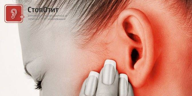 Болит ухо при надавливании на козелок отит