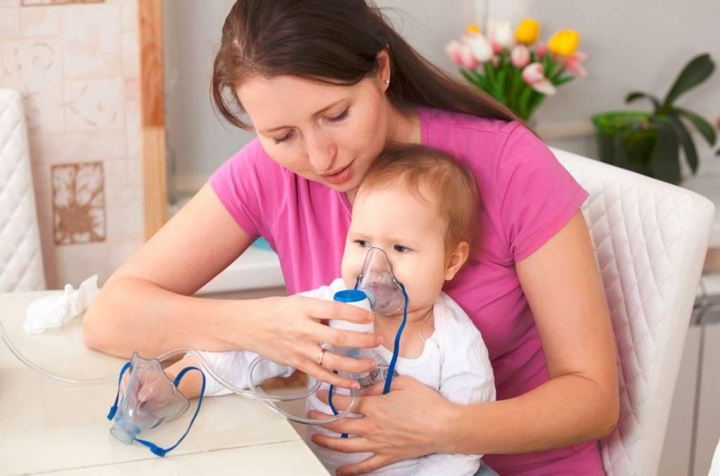 Какие ингаляции можно делать при сухом кашле 2 летнему ребенку