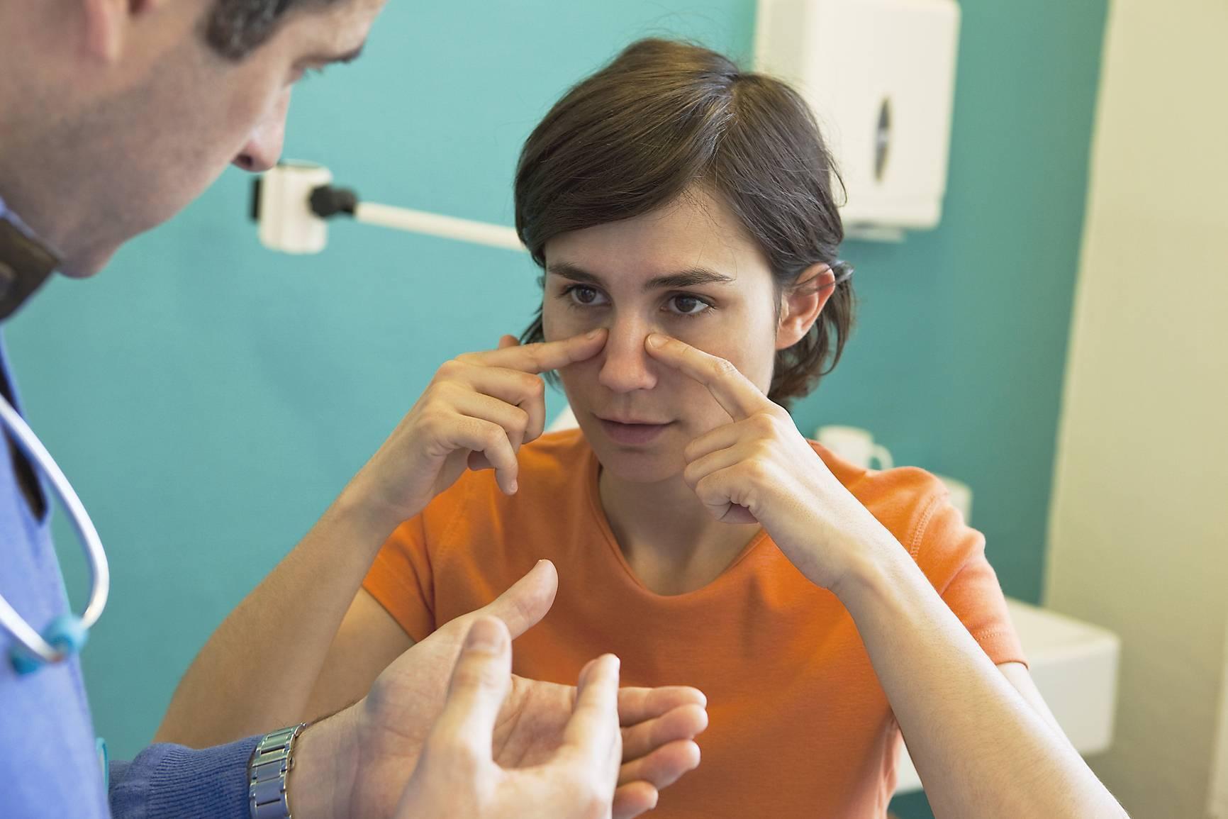 Как лечить фронтит?