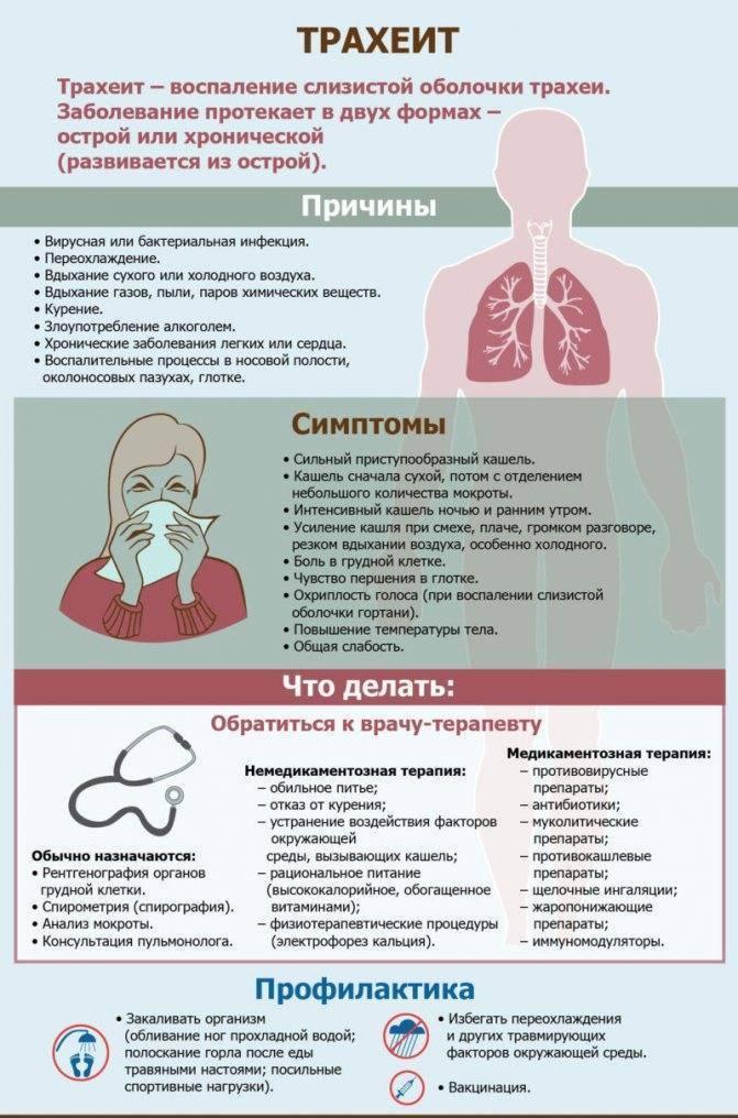 лекарства от трахеита
