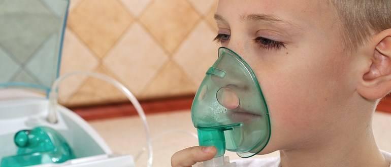 Ингаляции при боли в горле небулайзером взрослому