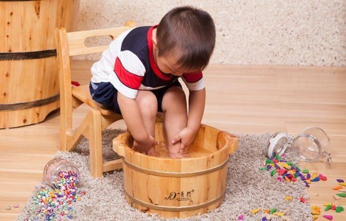Как парить ноги детям? - запись пользователя ***марина*** (spurga) в сообществе детские болезни от года до трех в категории насморк - babyblog.ru