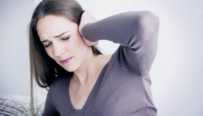 Закладывает уши при беременности на поздних сроках