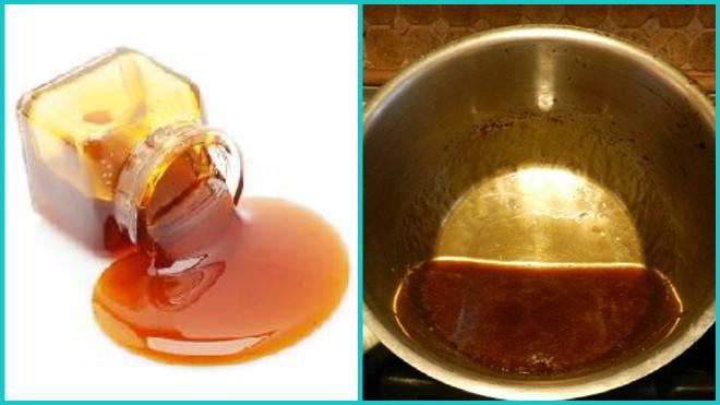 Как приготовить жженый сахар с молоком от кашля
