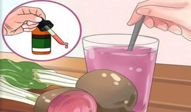 сок свеклы при гайморите