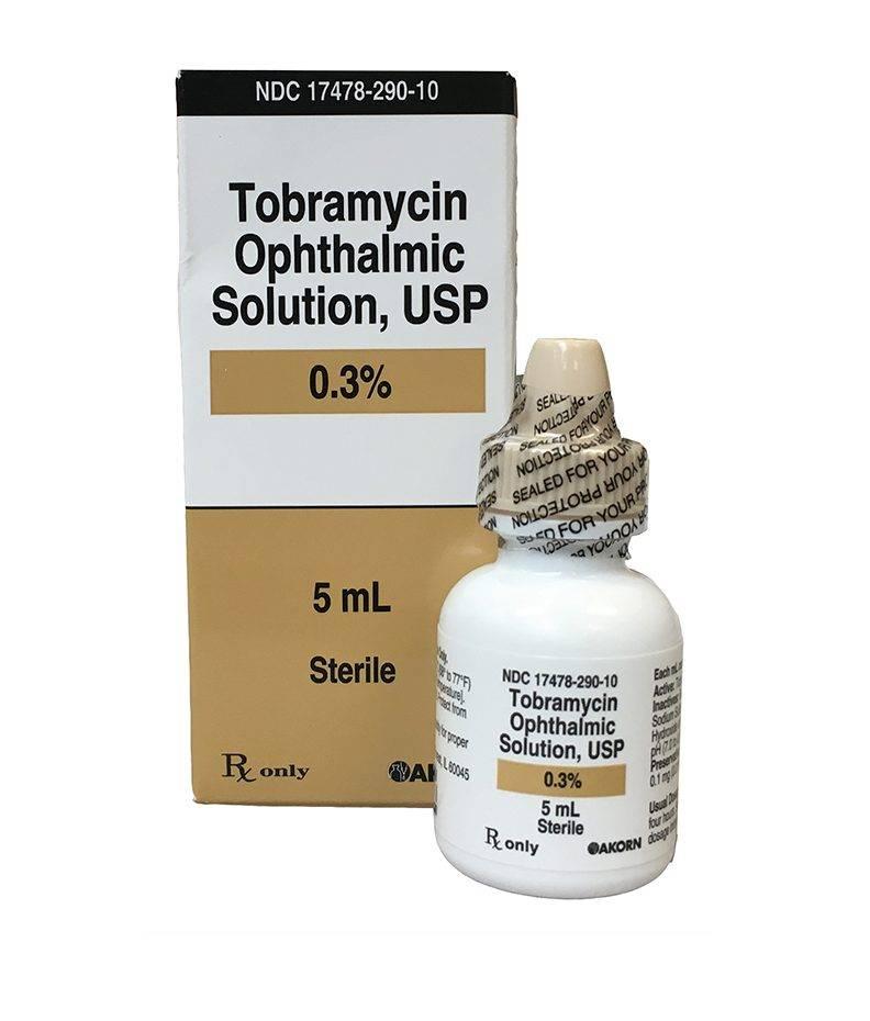 Тобрамицин капли. 5 фактов о применении глазных капель на основе тобрамицина