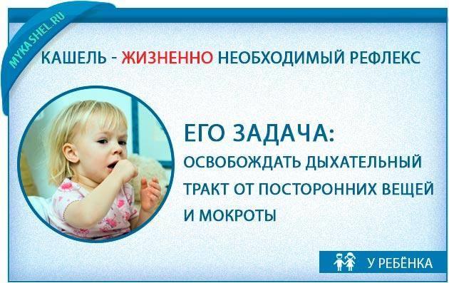 как избавиться от ночного кашля у ребенка