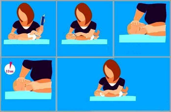 Как промыть нос новорожденному ребенку