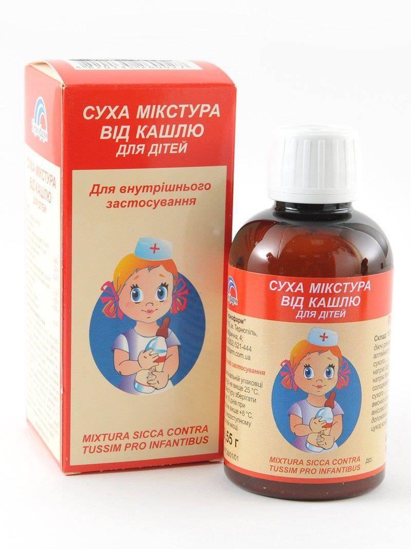 Что можно дать маленькому ребенку от влажного или сухого кашля