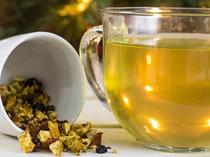 Какой чай поможет от кашля