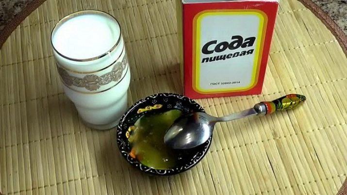 Молоко с содой от кашля, простуды и гриппа