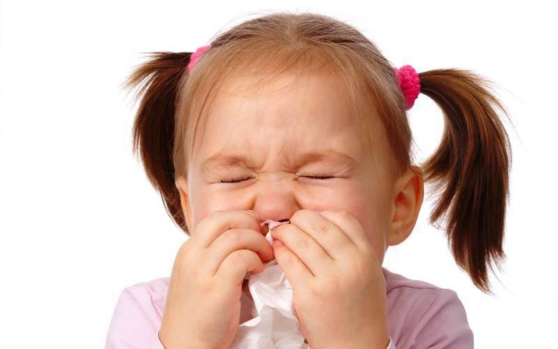 высокая температура кашель насморк у ребенка