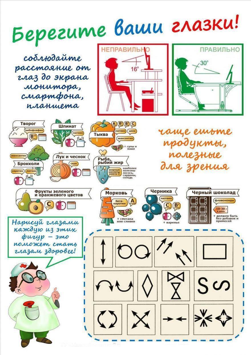 Пища, которая позволяет восстанавливать функцию зрения