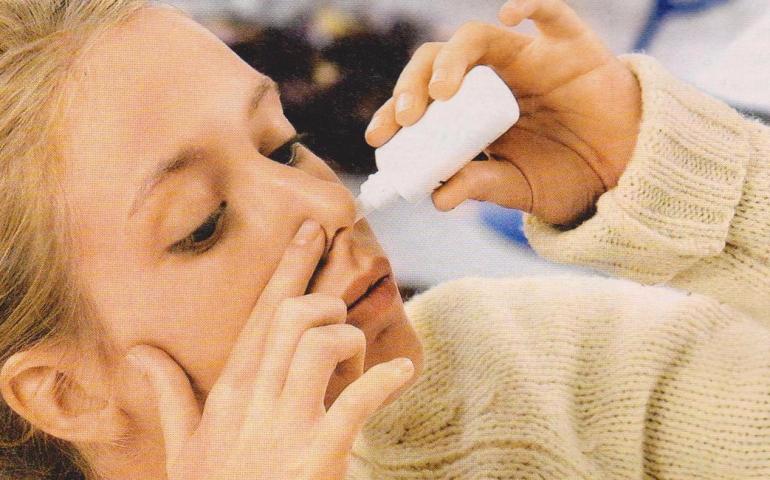 как правильно закапать в нос