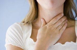 пупырышки в горле