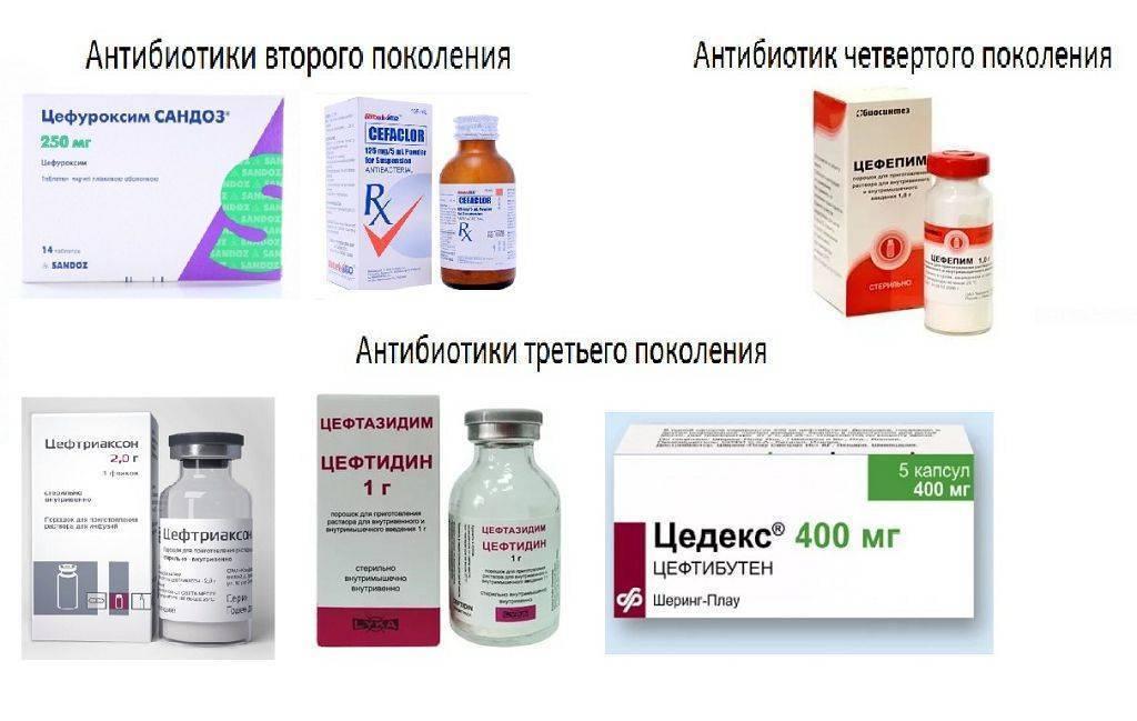 антибиотик при отите детям