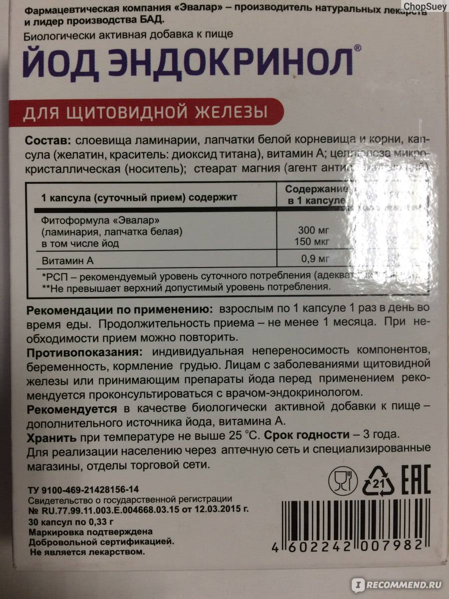 Продукты с йодом для щитовидной железы | pro shchitovidku