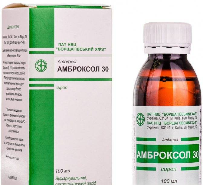 лекарство от кашля для детей от 2 лет