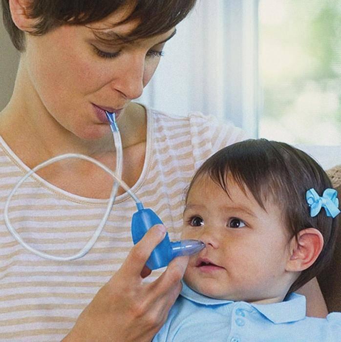 Как и чем промыть нос ребенку?