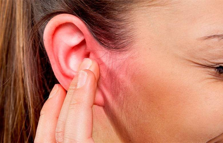 Болит ушная раковина и шея