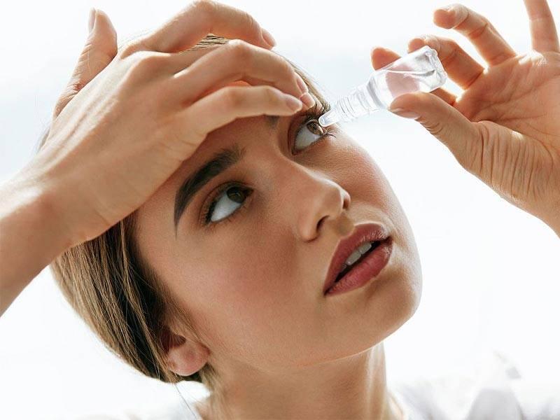 как промывать правильно глаза