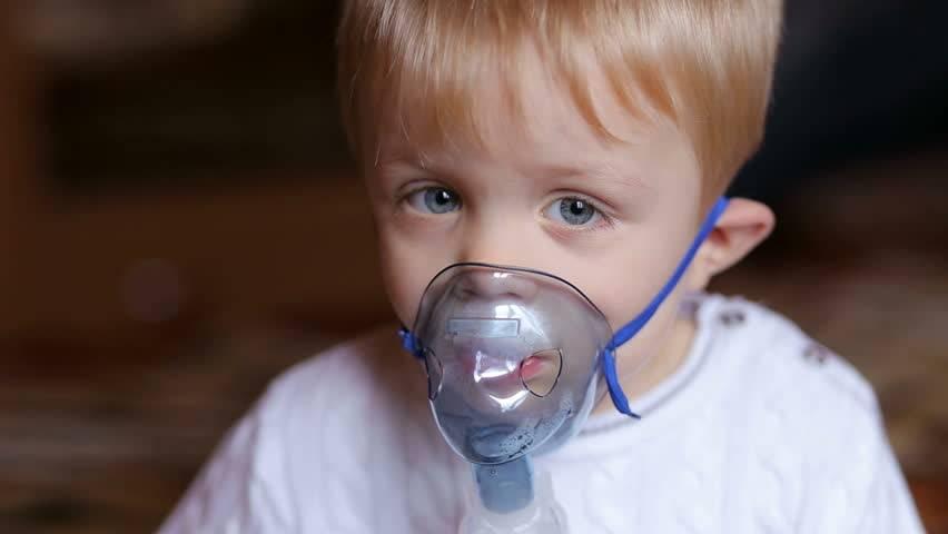 ингаляции при насморке для детей небулайзером