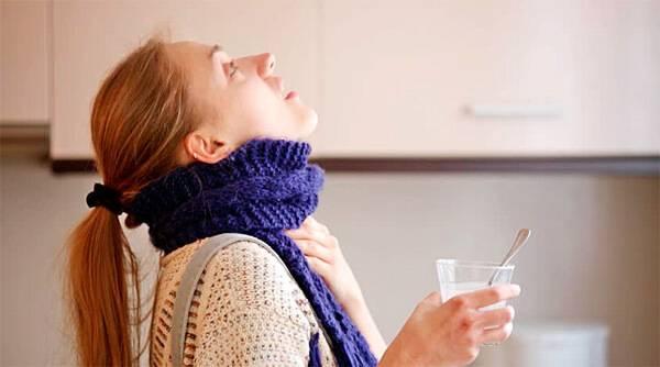 как заварить ромашку для полоскания горла