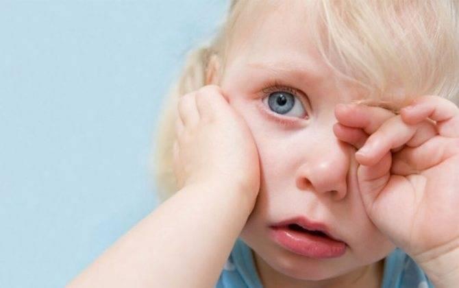 Нервный тик глаза в детском возрасте