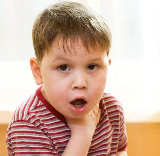 Лечение детского кашля со свистом