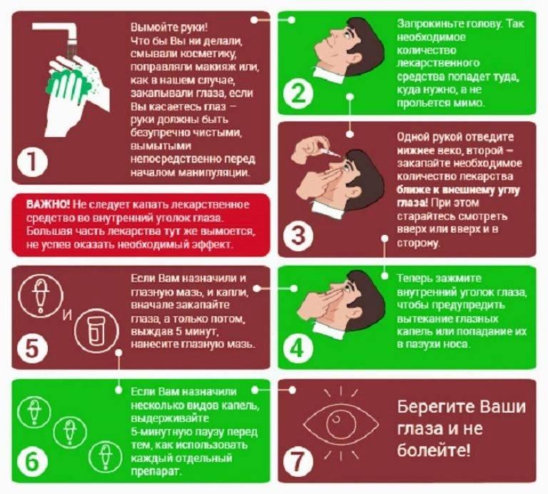 Как закапать капли в глаза ребенку: пошаговая инструкция