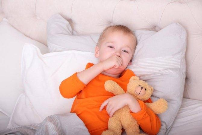 Кашель без насморка и температуры у ребёнка