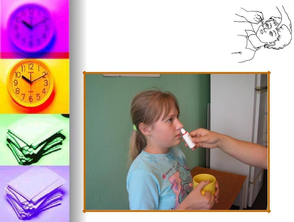 Как правильно закапывать капли в нос