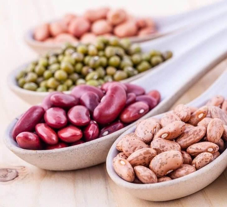 холестерин в бобовых