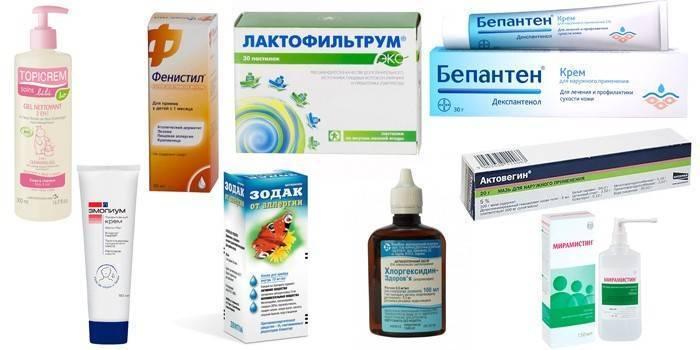 проявление дерматита детей