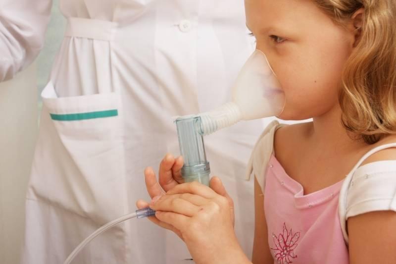 лечение кашля ингалятором у детей