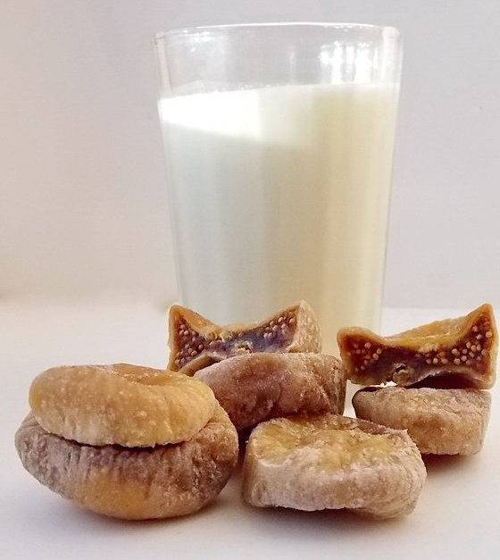 Инжир с молоком от кашля: домашний доктор для детей и взрослых