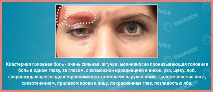 Головная боль, отдающая в глаза